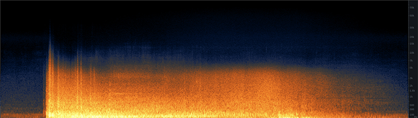 Cooling Tower Implosion Spectrogram