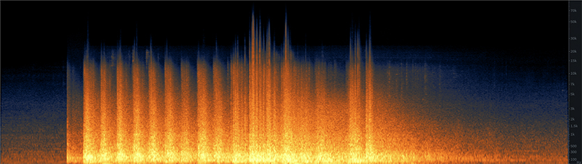 Dormitory Implosion Spectrogram