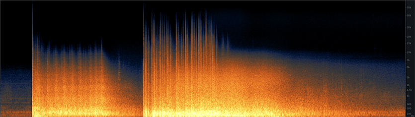 Large Office Implosion Spectrogram