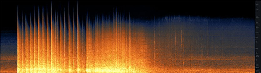 Small Office Implosion Spectrogram